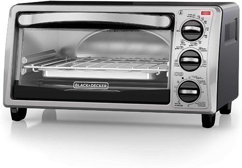 Black+Decker TO1313SBD Under Cabinet Toaster Oven
